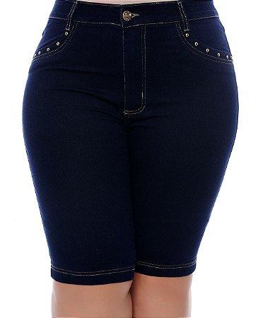 Bermuda Jeans Plus Size Ryna