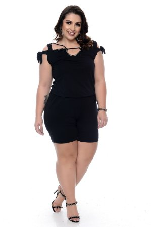 Macaquinho Plus Size Sheree