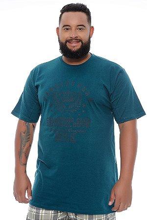 Camiseta Masculina Plus Size Henry
