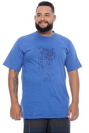Camiseta Masculina Plus Size Frank