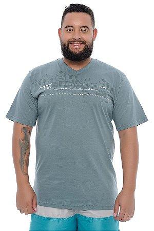 Camiseta Masculina Plus Size Joel