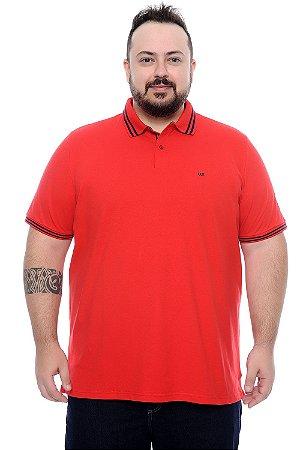 0bd33dbe1 Camisa Polo Masculina Plus Size Elder