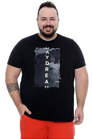 Camiseta Masculina Plus Size Mario