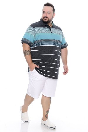Bermuda Masculina Plus Size Billie