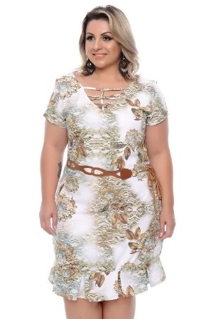 Vestido Plus Size Teisha