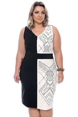 Vestido Plus Size Godiva