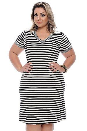 Vestido Plus Size Wana