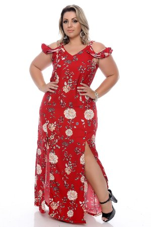 Vestido Plus Size Lorena