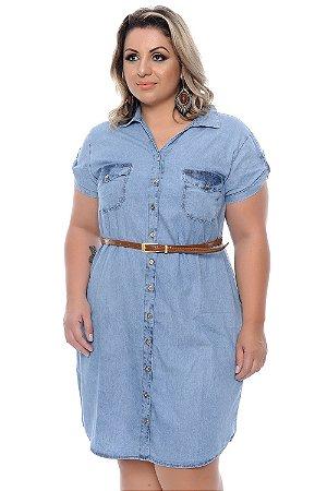 Vestido Plus Size Franye