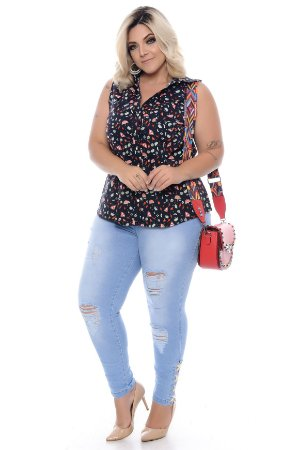 Camisa Plus Size Niss