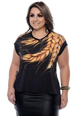 Blusa Plus Size Larae