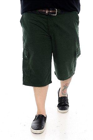 Bermuda Masculina Plus Size Jean