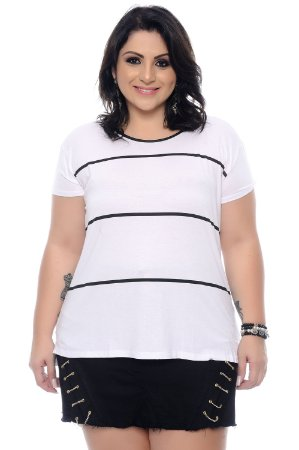Blusa Plus Size Leeanny