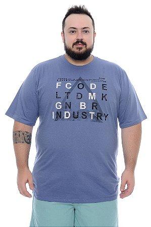 Camiseta Masculina Plus Size Malvino