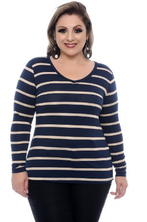 Blusa Plus Size Pernilla
