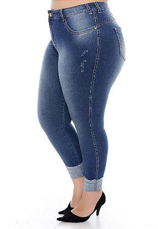 Calça Jeans Cigarrete Plus Size Ariadna