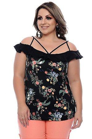Blusa Plus Size Evangeline