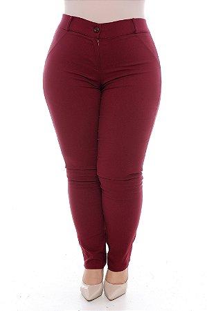 Calça Skinny Plus Size Minna
