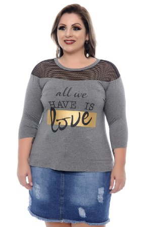 T-shirt Plus Size Florenza