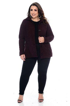 Casaco Tweed Plus Size Brena