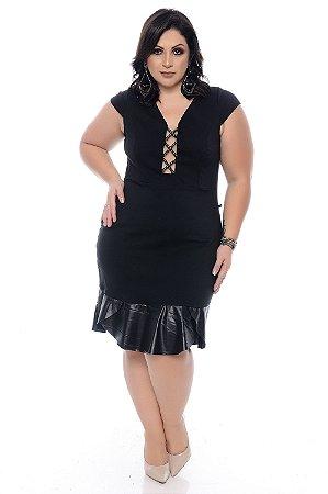 Vestido Plus Size Cirrê