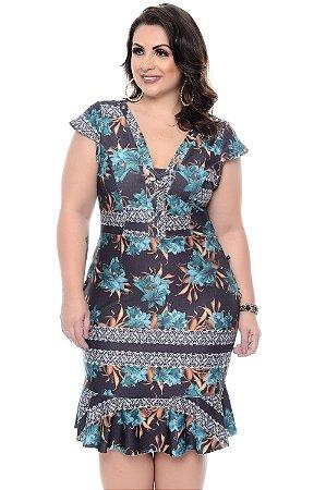 Vestido Plus Size Kenna