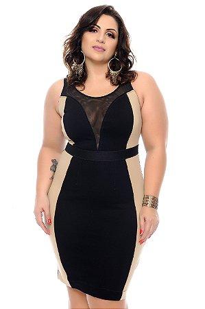 Vestido Plus Size Tabira