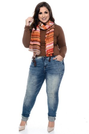 Calça Jeans Plus Size Filippa