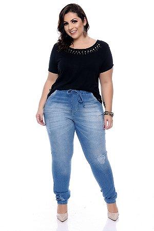 Calça Jeans Plus Size Accsa
