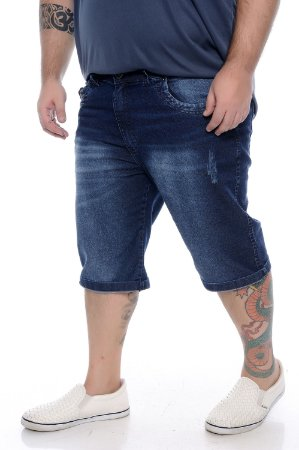 Bermuda Jeans Plus Size Furlan
