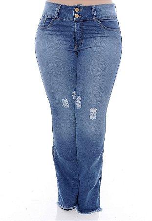 Calça Jeans Plus Size Shanti