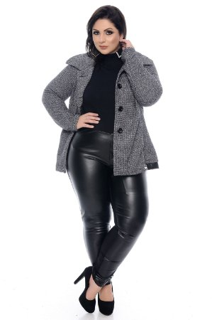 Casaco Tweed Plus Size Marluz