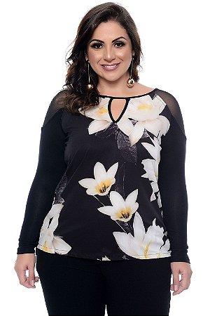 Blusa Plus Size Zahrani