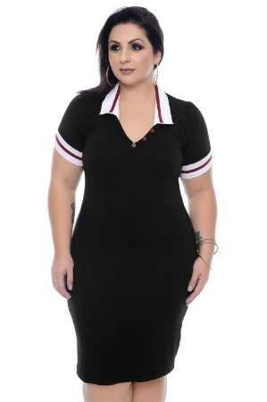 Vestido Plus Size Corinto