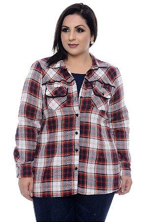 Camisa Xadrez Plus Size Véria