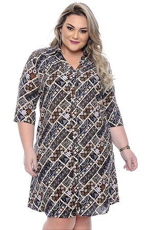 Vestido Chemise Plus Size Dozza