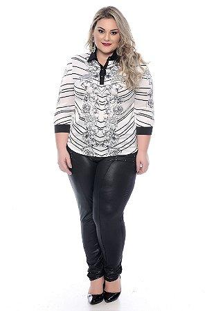 Camisa Plus Size Otrilly