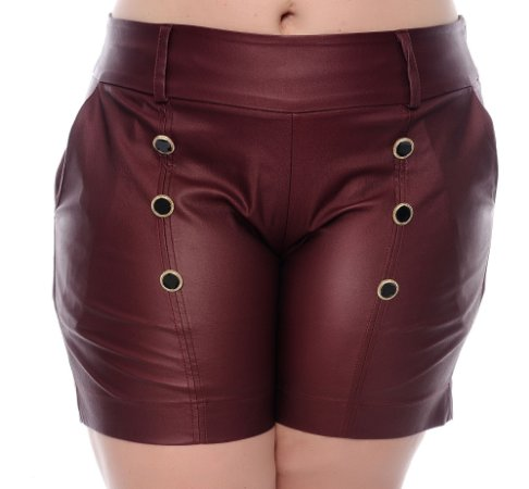 Shorts Plus Size Floriana