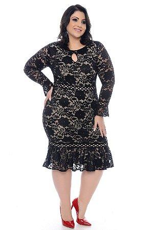 Vestido Plus Size Leccey