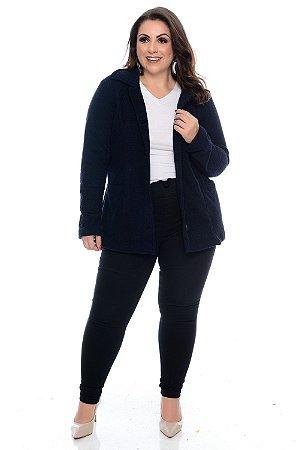 Casaco Tweed Plus Size Luana