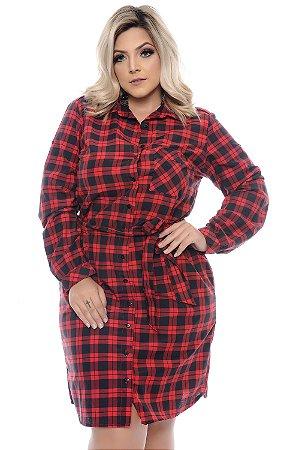 Vestido Chemise Plus Size Solang