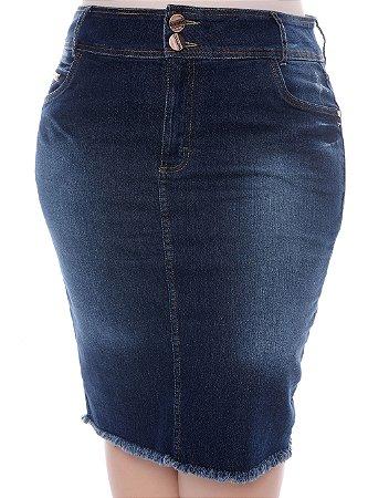 Saia Jeans Plus Size Bridge