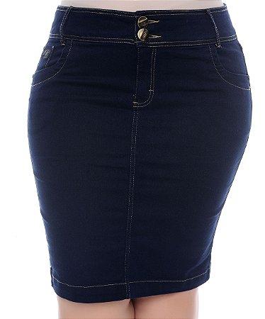 Saia Jeans Plus Size Lorin