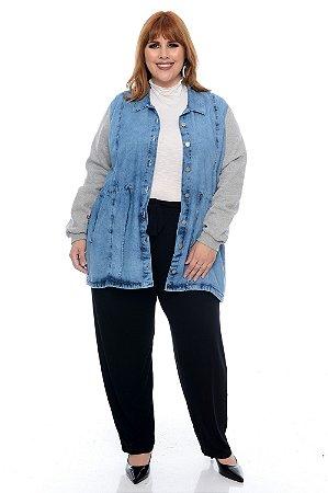 Parka Jeans Plus Size Daryane