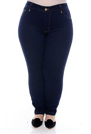 Calça Skinny Jeans Plus Size Uyronas