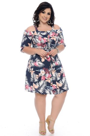 Vestido Plus Size Sonal