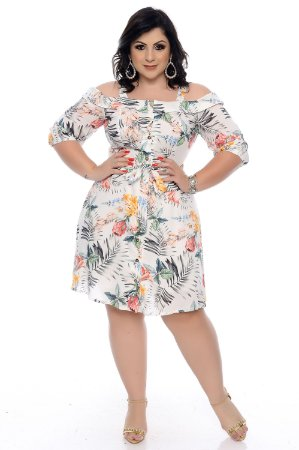 Vestido Plus Size Sigmara