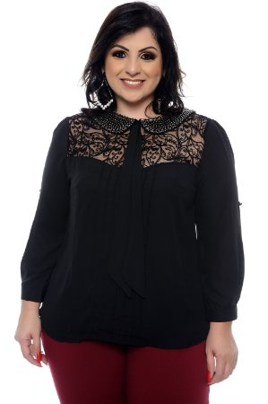 Blusa Plus Size Andhes