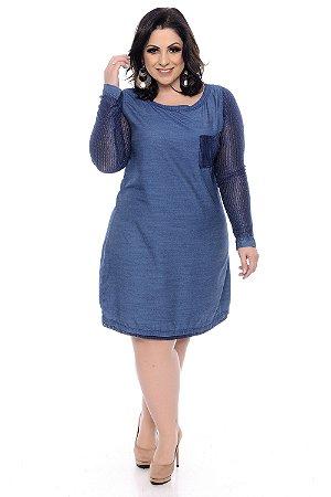 Vestido Plus Size Sonaly