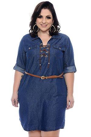 Vestido Jeans Plus Size Winnie